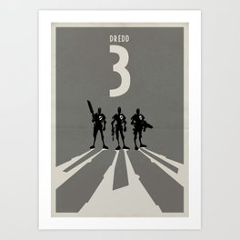 The three amigos  Art Print
