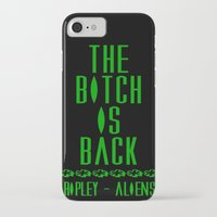 aliens iPhone & iPod Cases featuring Aliens by SwanniePhotoArt