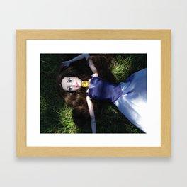 Retrato de una princesa A Princess Portrait Framed Art Print