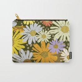 DaisyDanceDarkGround Carry-All Pouch