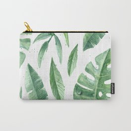 Leaves of the tropics Carry-All Pouch