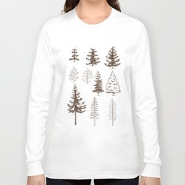 Pines and Spruces Long Sleeve T-shirt
