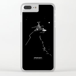 OPPORTUNITY Clear iPhone Case