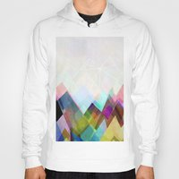 landscape Hoodies featuring Graphic 104 by Mareike Böhmer