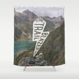 Trail Blazer Shower Curtain