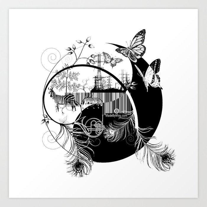 counterbalance Art Print