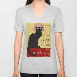 Tournee Du Chat Noir - 1896 Poster Unisex V-Neck