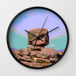 Rock bretagne Wall Clock