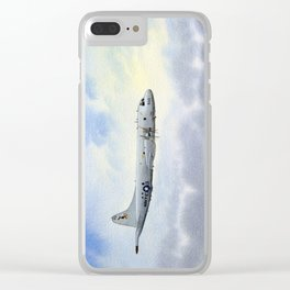 P-3 Orion Aircraft Clear iPhone Case
