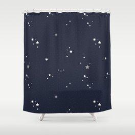 Starry Night Sky Shower Curtain