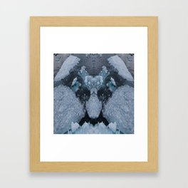 Icy Troll Framed Art Print