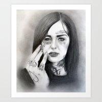 Jessica Clark Art Print
