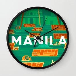 Baha Manila Wall Clock