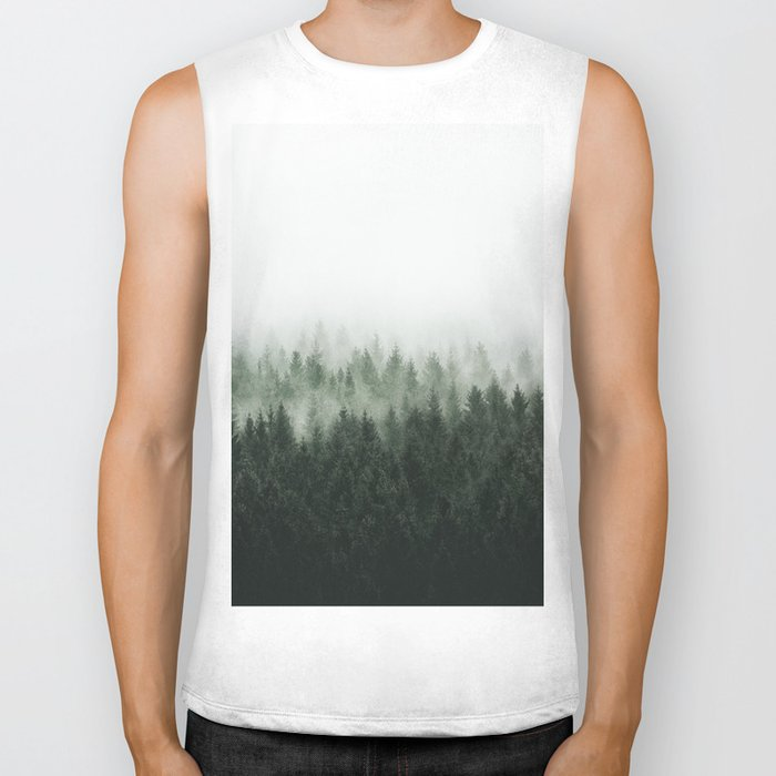 High And Low Biker Tank