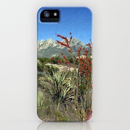Desert Bloom iPhone Case