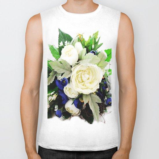 Flowers # Biker Tank