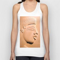 egyptian Tank Tops featuring Egyptian Beauty by Brian Raggatt