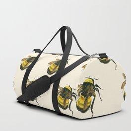 Vintage Scientific Bee Duffle Bag
