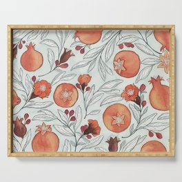 Young Pomegranates Serving Tray