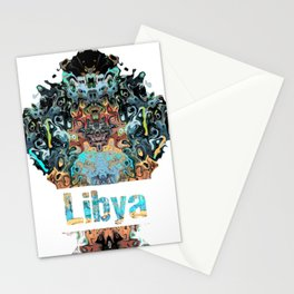 Libya Awesome Country gift Stationery Cards