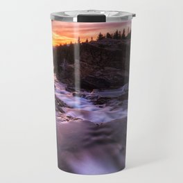 Falls at first light Travel Mug