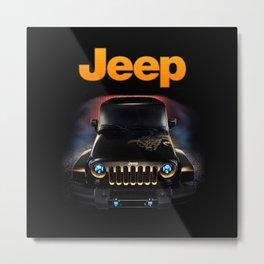 Protector Jeep Metal Print