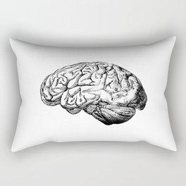 Brain Anatomy Rectangular Pillow