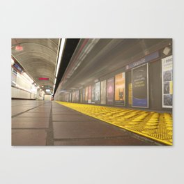 Motion Blur Granville Skytrain 3 Canvas Print