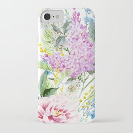 Vision in White iPhone Case