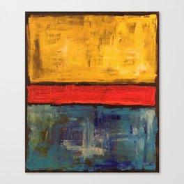 Primary Rothko Canvas Print