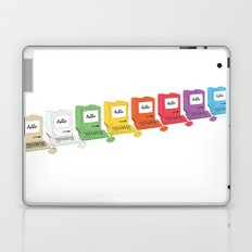8 Macs in a Row Laptop & iPad Skin