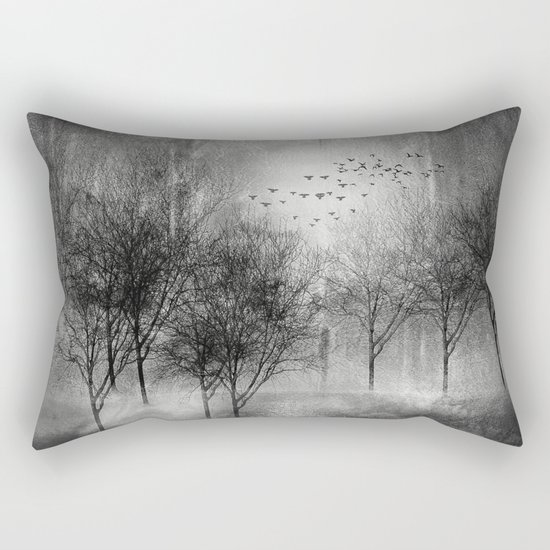 Black and White - Paisaje y color II Rectangular Pillow