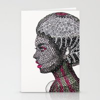 camouflage Stationery Cards featuring Camouflage  by Luna Portnoi