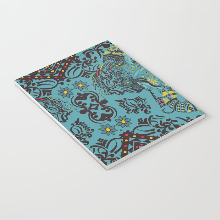 Anchor and Elephant Notebook