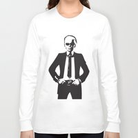 karl Long Sleeve T-shirts featuring Karl Lagerfeld by Joanna Theresa Heart