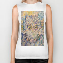The Owl Biker Tank
