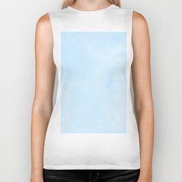 Blue Raspberry Watercolor Biker Tank