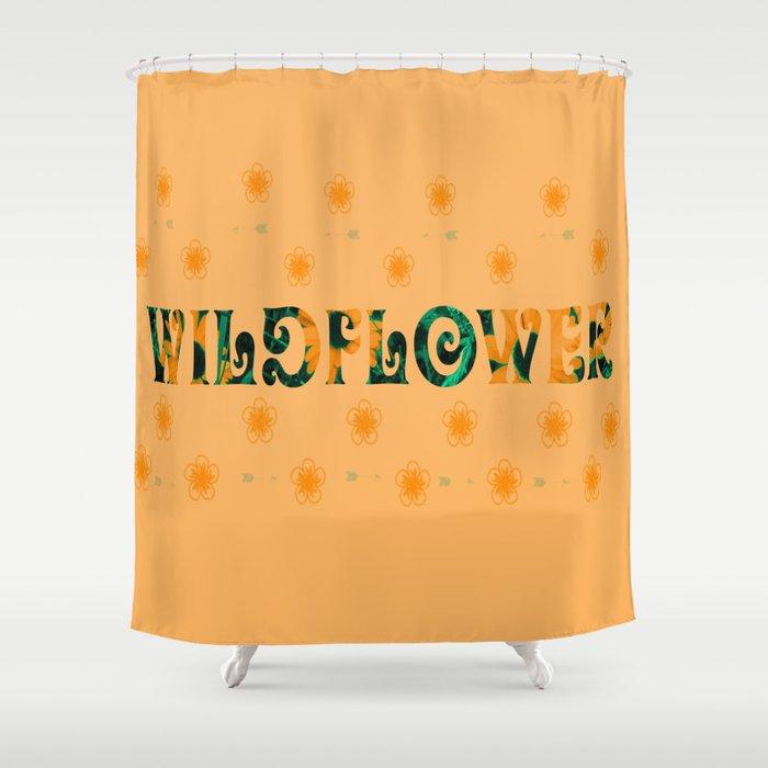 Tom Petty Wildflower Shower Curtain By Purelifephotos20
