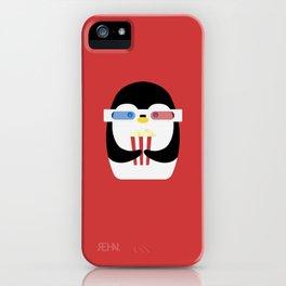 Penguin + Movie Time iPhone Case
