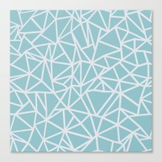 Ab Outline Salt Water Canvas Print