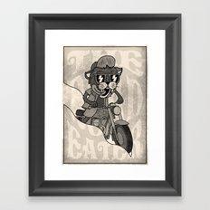 The Road Eater Framed Art Print