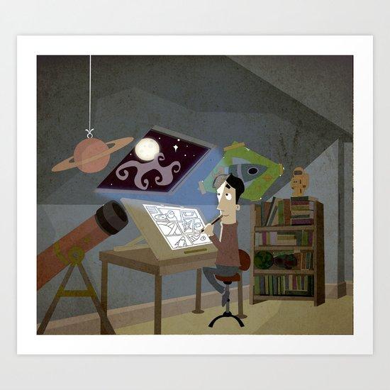 Following the Dream Art Print