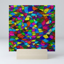 Stained Glass Mini Art Print