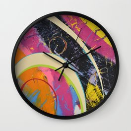 Pretty Tricky Stuff Wall Clock