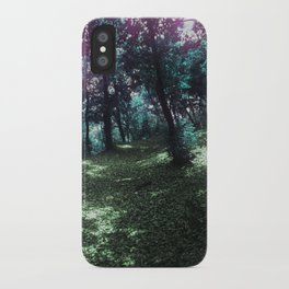 hometown forest iPhone Case