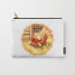 Chicken with chicks Carry-All Pouch
