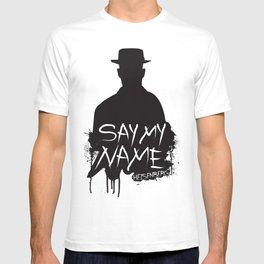 Say My Name - Heisenberg (Silhouette version) T-shirt