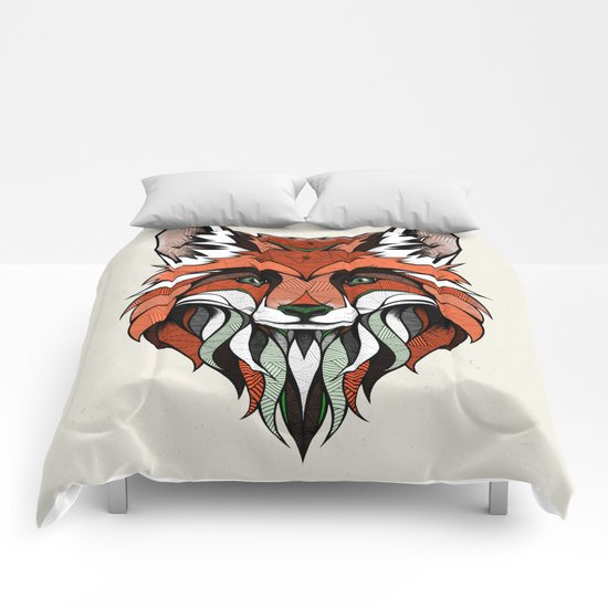 Fox // Colored Comforters