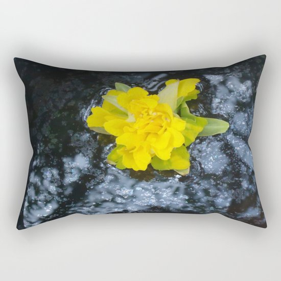 Narcissus, Oh such a Narcissus! Rectangular Pillow