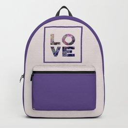 Succulent Uv LOVE #society6 #love #ultraviolet Backpack